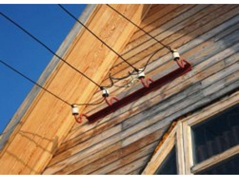 Как сделать ввод электричества в деревянном доме 634